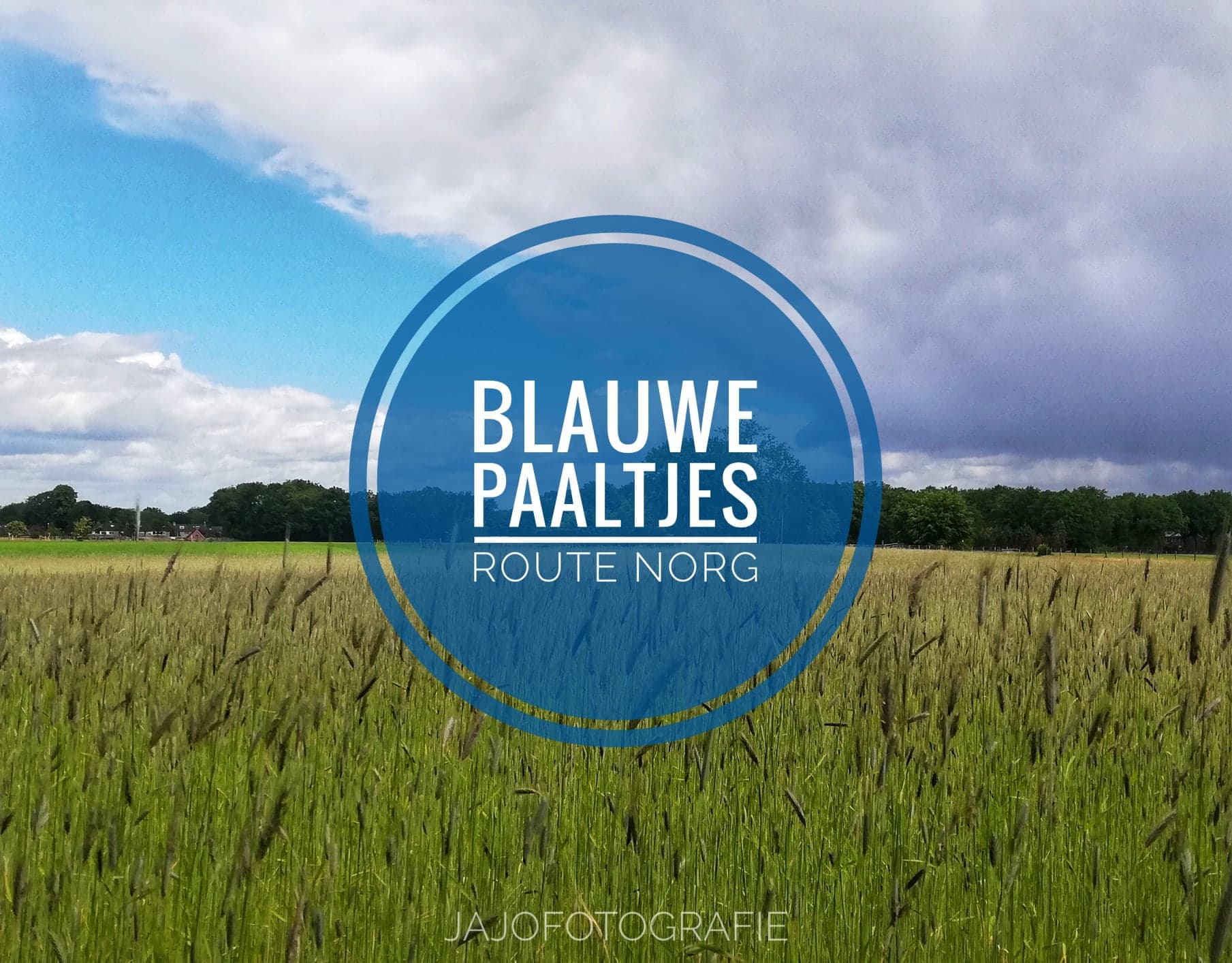 Norg – blauwe paaltjes route