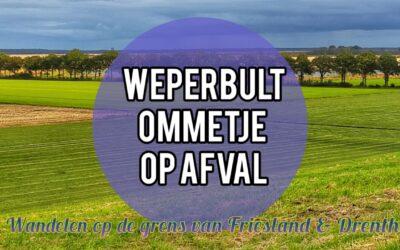 Weperbult – ommetje lopen op de grens van Friesland